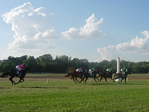 All-Source Handle Up 14% at Kentucky Downs
