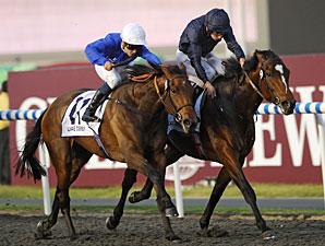 Khawlah wins the 2011 UAE Derby.