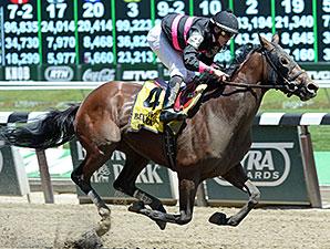 Kid Cruz wins the 2014 Easy Goer Stakes.