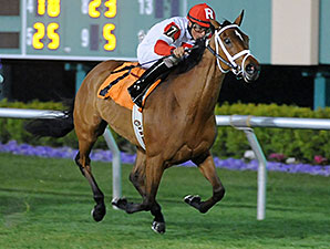 Kitten's Queen wins the 2015 Jersey Lilly Stakes.