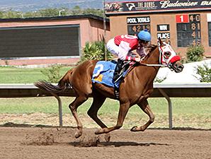 La La La Dandy wins the 2012 Dessie and Fern Sawyer Futurity Trial.
