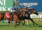La Tia Goes Gate to Wire in Athenia Stakes