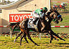 Del Mar Oaks: Lady of Shamrock Mows 'Em Down