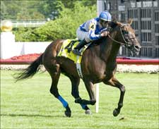 Lattice Works Late to Win American Derby