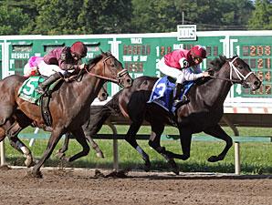 Le Bernardin wins the Pegasus Stakes.