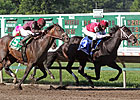 Le Bernardin Prevails in Pegasus Stretch Duel
