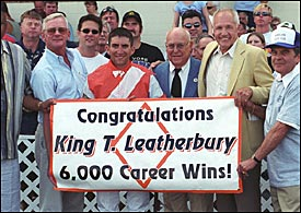 At Last! Leatherbury Wins 6,000th Race