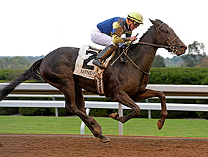 Leigh Court wins the 2014 Thoroughbred Club of America.