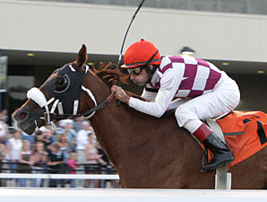 Libor Lady wins the 2009 Satin and Lace Stakes.