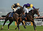 Lord Windermere Prevails in Gold Cup Photo