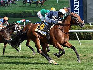 Lubash wins the 2015 West Point Stakes.
