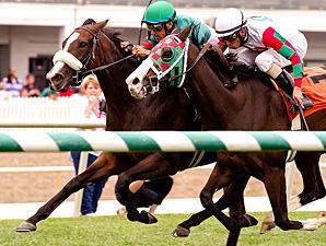 Madame Giry wins the 2013 Jameela Stakes.
