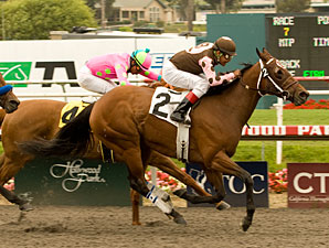 Made for Magic wins the 2010 Milady.