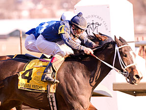 Magical Feeling wins the 2012 Barbara Fritchie.