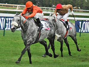 Marchand d'Or wins the Prix De Meautry Lucien Barriere.