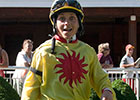 Jockey Maria Thornton Gets First Victory