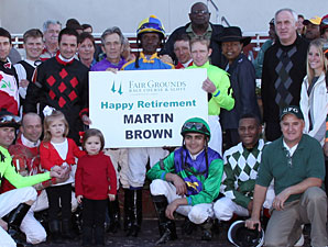 Louisiana Jockey Martin Brown Retires