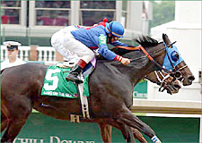 Azeri Upset in Humana Distaff