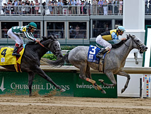Miss Isella Posts Louisville Distaff Upset