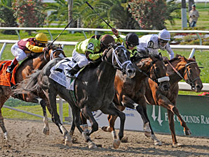 Mission Impazible Hits His Mark in La. Derby