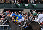 Monba, Cowboy Cal Work at Keeneland
