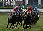 Handle, Attendance Gain at Monmouth Park Summer Meet