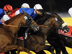 Monterosso wins the Dubai World Cup.