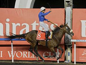 Monterosso wins the 2012 Dubai World Cup.