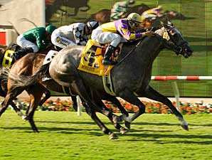 Monzante storms home to take the Eddie Read (gr. I) July 20 at Del Mar.