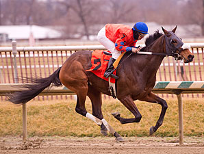 Moon Philly wins the 2013 Maryland Racing Media Stakes.