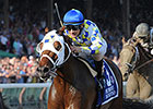 Moreno in Sharp Breeders' Cup Classic Drill