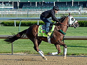 Mr. Z breezes at Churchill Downs April 28.