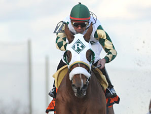 Mucho Macho Man Turns in Another Fast Drill