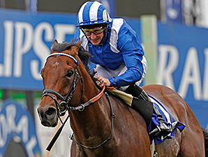 Mukhadram wins the 2014 Coral Eclipse at Sandown.