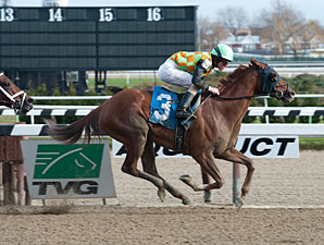 My Wandy's Girl wins the 2012 Pentelis Stakes.