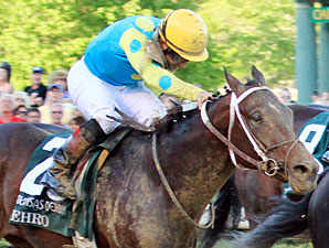 Nehro finished second to Archarcharch in the 2011 Arksansas Derby.