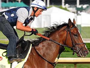 Normandy Invasion - Churchill Downs, May 2, 2013.