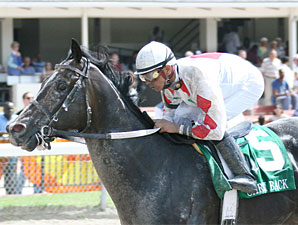 Not for Silver wins the 2009 Carry Back.