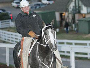 Old Fashioned and Larry Jones at Oaklawn Park, February 14, 2009.
