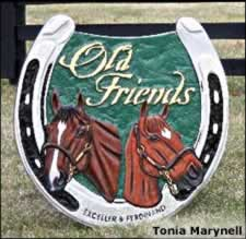 Old Friends Finding Company Outside Horse Industry