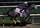 On Fire Baby Works 7 Furlongs for Oaks