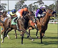 Osidy's Late Surge Lands Will Rogers Stakes