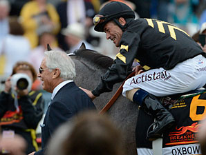 Lukas Points Oxbow to Belmont Stakes