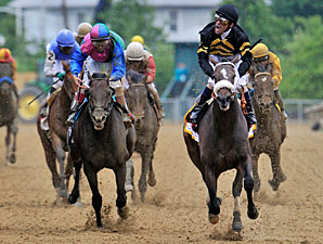 Oxbow wins the 2013 Preakness.