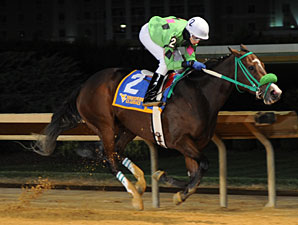 Paco Smart wins the 2012 West Virginia Lottery Breeders' Classic Stakes.
