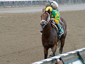 Palace Malice wins the 2013 Jim Dandy.