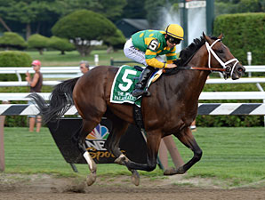 Palace Malice wins the 2013 Jim Dandy.