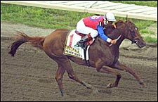 Funny Cide-Peace Rules Rivalry to be Renewed in New Orleans 'Cap