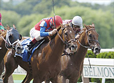 Peace Rules Game in Suburban Handicap Victory