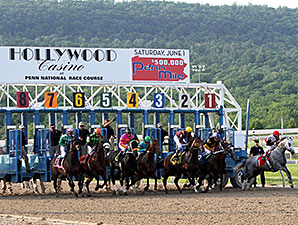 Penn National Sets Average Handle Record